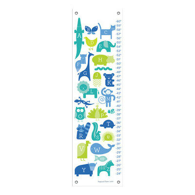 Oopsy Daisy ABC Animalia Growth Chart