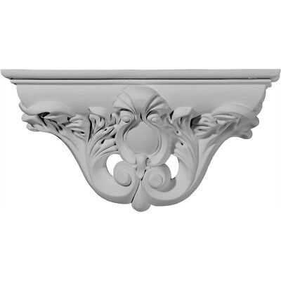 "Ekena Millwork Hillsborough 6 5/8""H x 13 1/8""W x 3 3/4""D Decorative Shelf"