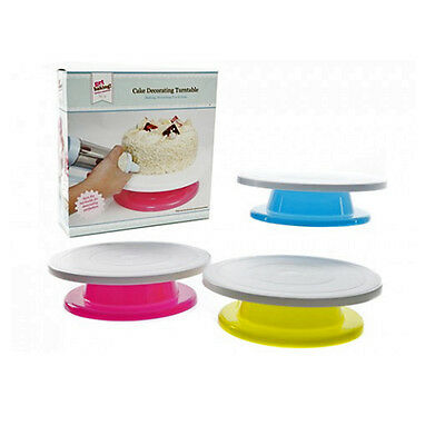 27.5Cm Cake Decorating Turntable Kitchen Display Stand Icing Rotating Revolving