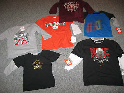 NIKE Young/Toddler Boy's T- Shirt, Tanks,Short or Long Sleee,All Colors&Sizes