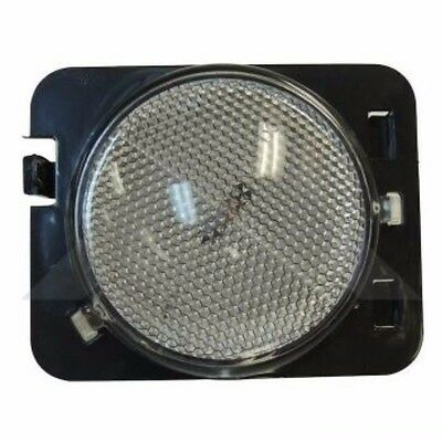 Side Marker Lamp Clear Front Right Jeep Wrangler JK 2007-2016 RT28023 Crown