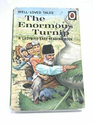 The Enormous Turnip (A Ladybird easy-reading book. Well-loved t... Hardback Book