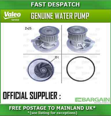 506309 2649 Valeo Water Pump For Vauxhall Vectra 2 2003-2008