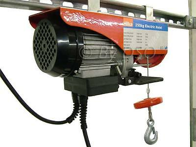 Hilka 500Kg 900W Electric Steel Rope Hoist Winch TUV, GS and CE Certified