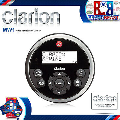 New Clarion Mw1 Wired Remote Control For Clarion Source Units Cmv1,cmd6 & M309