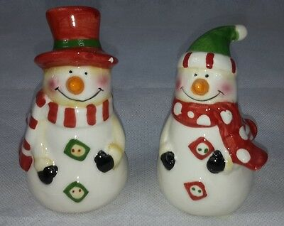 Snowman Salt & Pepper Shakers Collectable Novelty  - NEW - Freepost