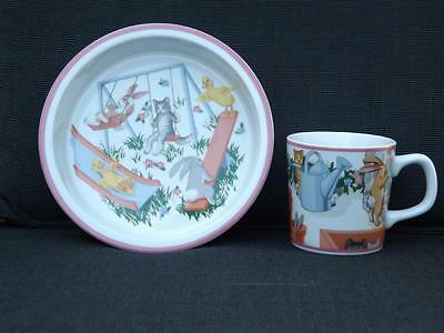 NWOT Tiffany & Co. Tiffany Playground Bowl & Cup Childrens Set Japan 1992