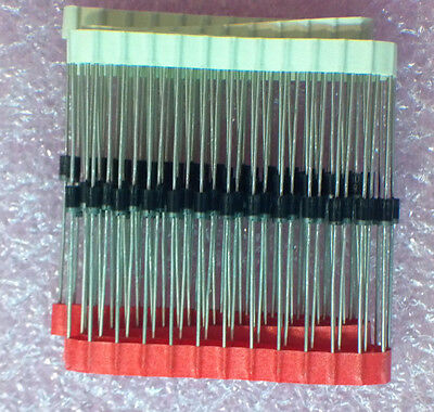 1N4004 400v 1A DO-41 Rectifier Diodes Vishay - Lot of 25pcs