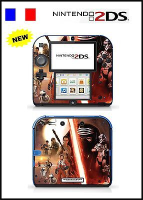 Skin Sticker Autocollant Deco Pour Nintendo 2Ds Ref 145 Star Wars 7