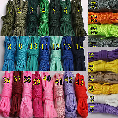 Hot 550 Survival Rope Paracord Parachute Cord Lanyard Type 7 Strand Core 100 FT