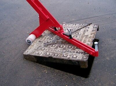 Pivot Lift Manhole Cover Lifter MUSTANG MADE IN THE UK Drain Cover