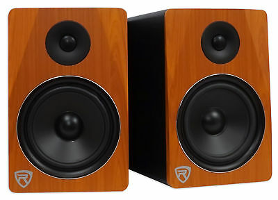 "Rockville APM8C 8"" 2-Way 500W Active/Powered USB Studio Monitor Speakers Pair"