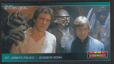Topps Star Wars - Return Of The Jedi Widevision - Promo P1