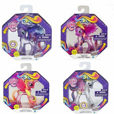My Little Pony Rainbow Power Shimmer Water Filled Glitter Princess Pony