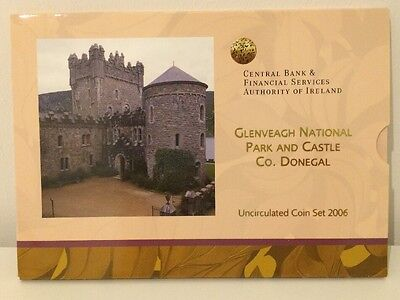 Ireland Glenveagh National Park and Castle Uncirculated Coin Set 2006 KMS #K980