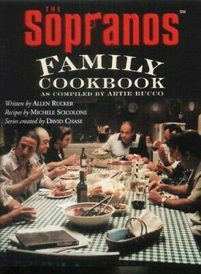 The Sopranos Family Cookbook by Bucco, Artie Hardback Book The Cheap Fast Free
