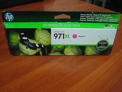 CN627AM HP 971XL Magenta Ink Cartridge OfficeJet Pro X451dn expired late 2015