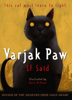 Varjak Paw, Said, S. F. Paperback Book The Cheap Fast Free Post