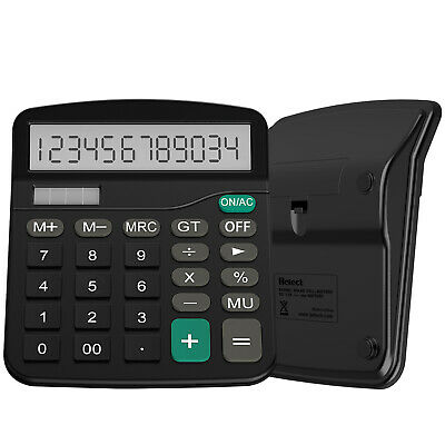 Helect Desktop Calculator Standard Function Black