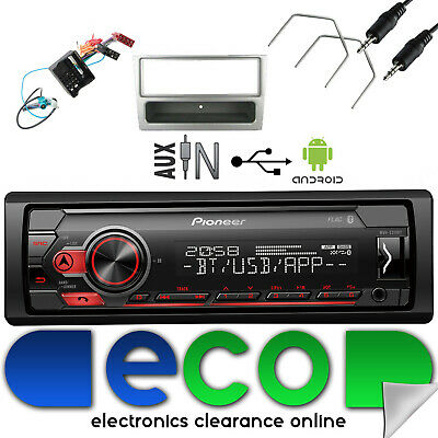 Volkswagen Polo MK4 Facelift 2006-09 Pioneer CD MP3 AUX USB Stereo /& Fitting Kit