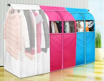Cloth Hanging Garment Suit Coat Dust Cover Protector Wardrobe Storage Bag S/L