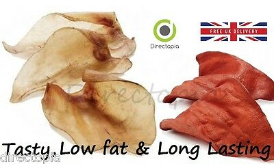 Premium Cow Ears Natural Dried Beef Low Fat Dog Treats Natural & Healthy