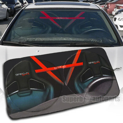 "Foldable 1Pc Car Windshield Sun Shade Reflective Sun Block Window Cover 51""X28"""