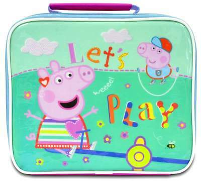 Peppa Pig 'Once Upon a Time' Insulated Lunch Bag/Box   Lunchbox