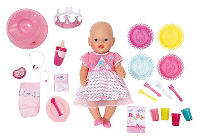 Zapf Creation - Baby Born - 25. Geburtstag-Set Interactive Puppe - NEU OVP
