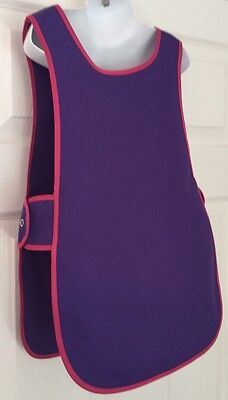 Wholesale Job Lot 20 Brand New Kids Tabard Aprons Purple Clothes Craft Toddler