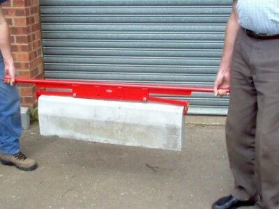 End Gripping Kerb / Slab Lifter MUSTANG MADE IN THE UK DQ11