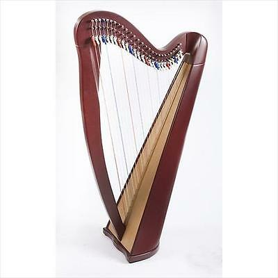 EMS Heritage 27 String Celtic Harp With Semitone Levers In Mahogany **NEW**