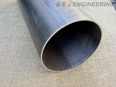 "Mild Steel Pipe 152.4mm (6"") x 3mm - 450mm long - Chimney?- Round Tube"