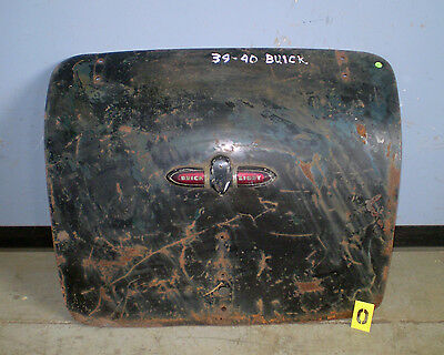 1939 1940 Buick Trunk Lid Used OEM
