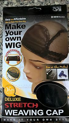 Qfitt Make Your Own Wig Deluxe Stretch Weaving Cap #5018