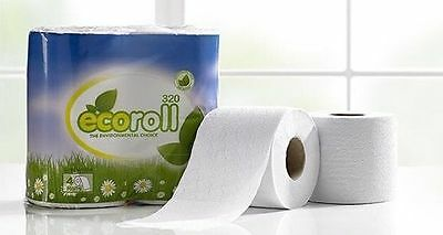 ECO {recycled} Toilet Rolls 36's x 320 Sheet Rolls Per Case Branded £7.56 ex Vat