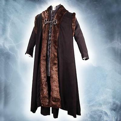 Licensed Harry Potter Lucius Malfoy Cape with Fur Museum Replicas