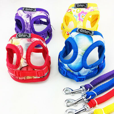 Pet Puppy Control Harness for Dog Cat Mesh Walk Collar Soft Safety Strap Vest
