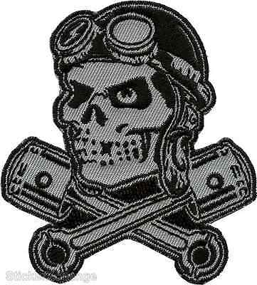 Bomber Ace Embroidered Patch Art Rob Kruse RKP29