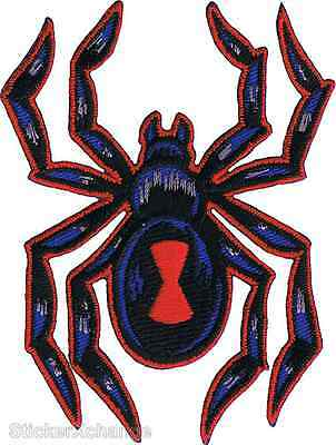 Black Widow Spider Embroidered Patch Artist Reed Nice RDP5