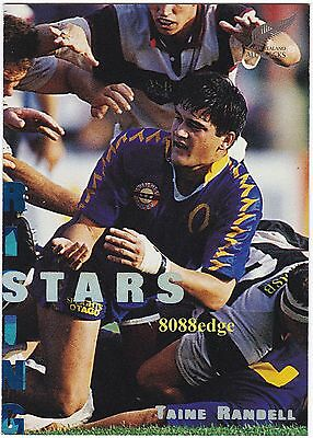 1995 Dynamic New Zealand Rugby Union Rising Stars: Taine Randell #rs6 All Black