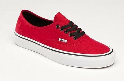 fff938975b1d3a VANS AUTHENTIC CHILI Pepper Mens   Womens Canvas Skate Shoes Sizes ...