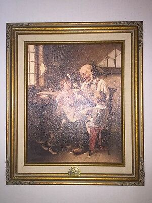 Norman Rockwell The Toy Maker 75th Anniversary Picture Numbered Ltd Edition