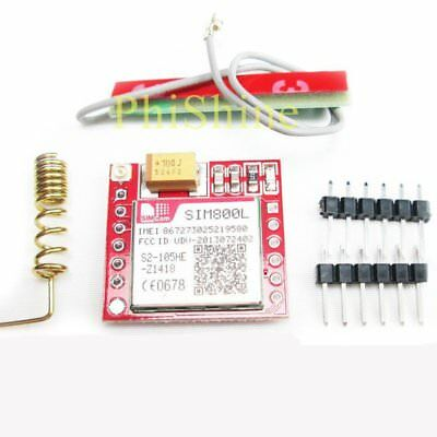 Smallest SIM800L GPRS GSM Phone Module Card Board Quad-band Onboard + Antenna