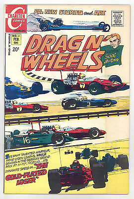 Drag N' Wheels (Charlton 1972) #51 VF+ Scot Jackson