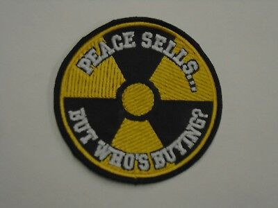 Megadeth Peace Sells Embroidered Patch