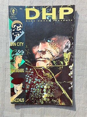 Dark Horse Presents N°52 Vo Tbe / Fine Frank Miller Sin City 1991