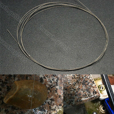 1/5/10PCS 1m Saw Blades Cutting Wire For Emery Jade Metal Stone Glass Rock NEW