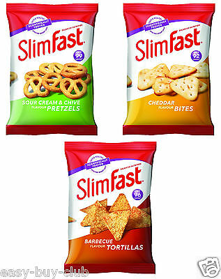 SlimFast Snack Bag Diet Weight Loss Replacement Meal Slimming Nosh Collation