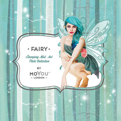 Moyou London FAIRYTALE Stamping Plates 14 Plates to choose from